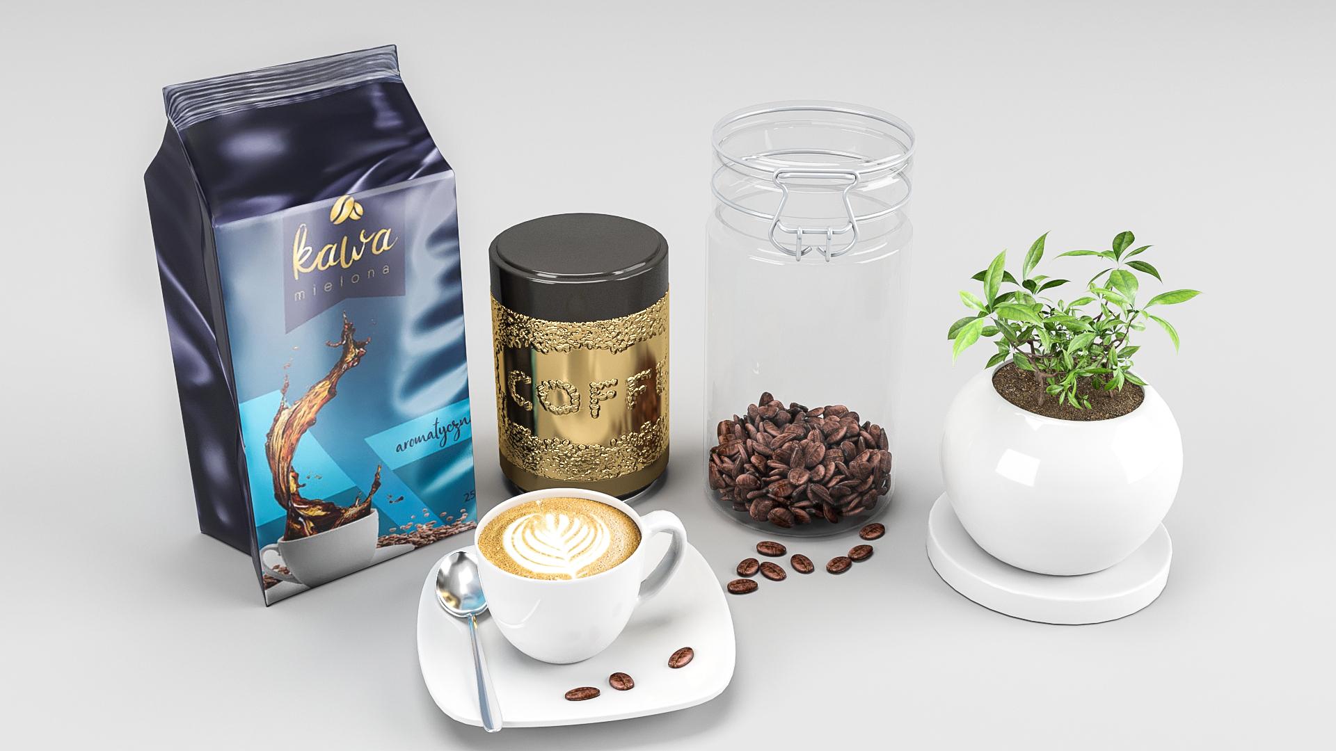 Kawa oraz ziarna